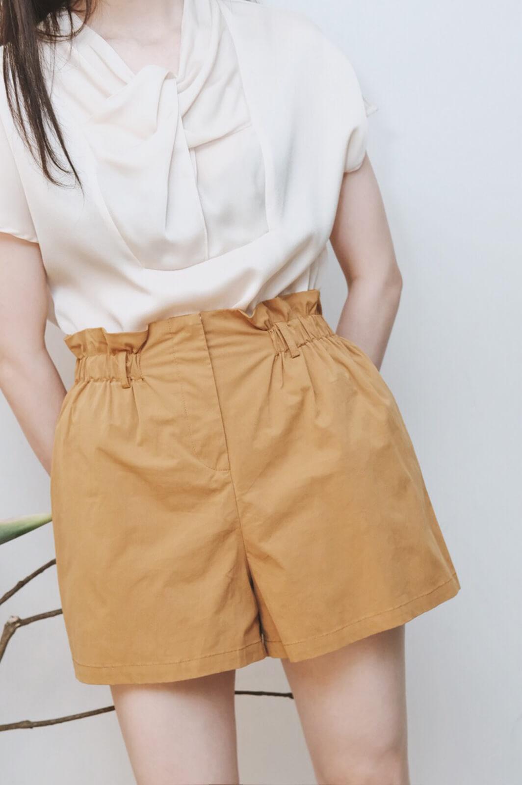 DC棉麻短褲