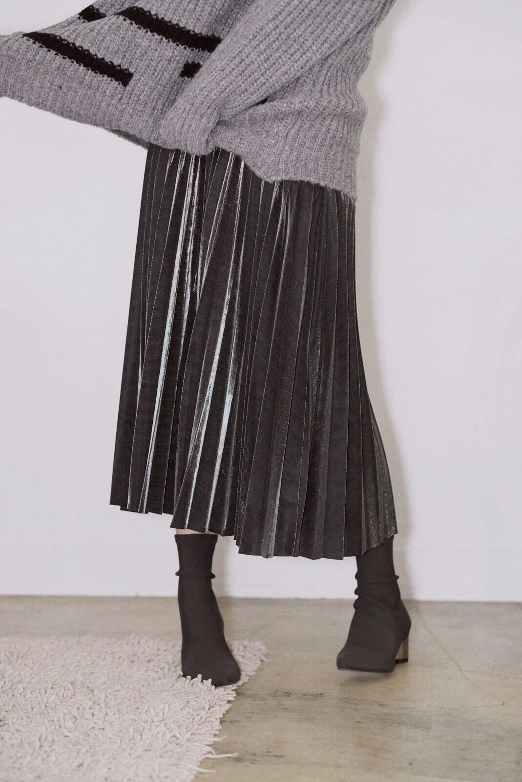 折光金屬裙