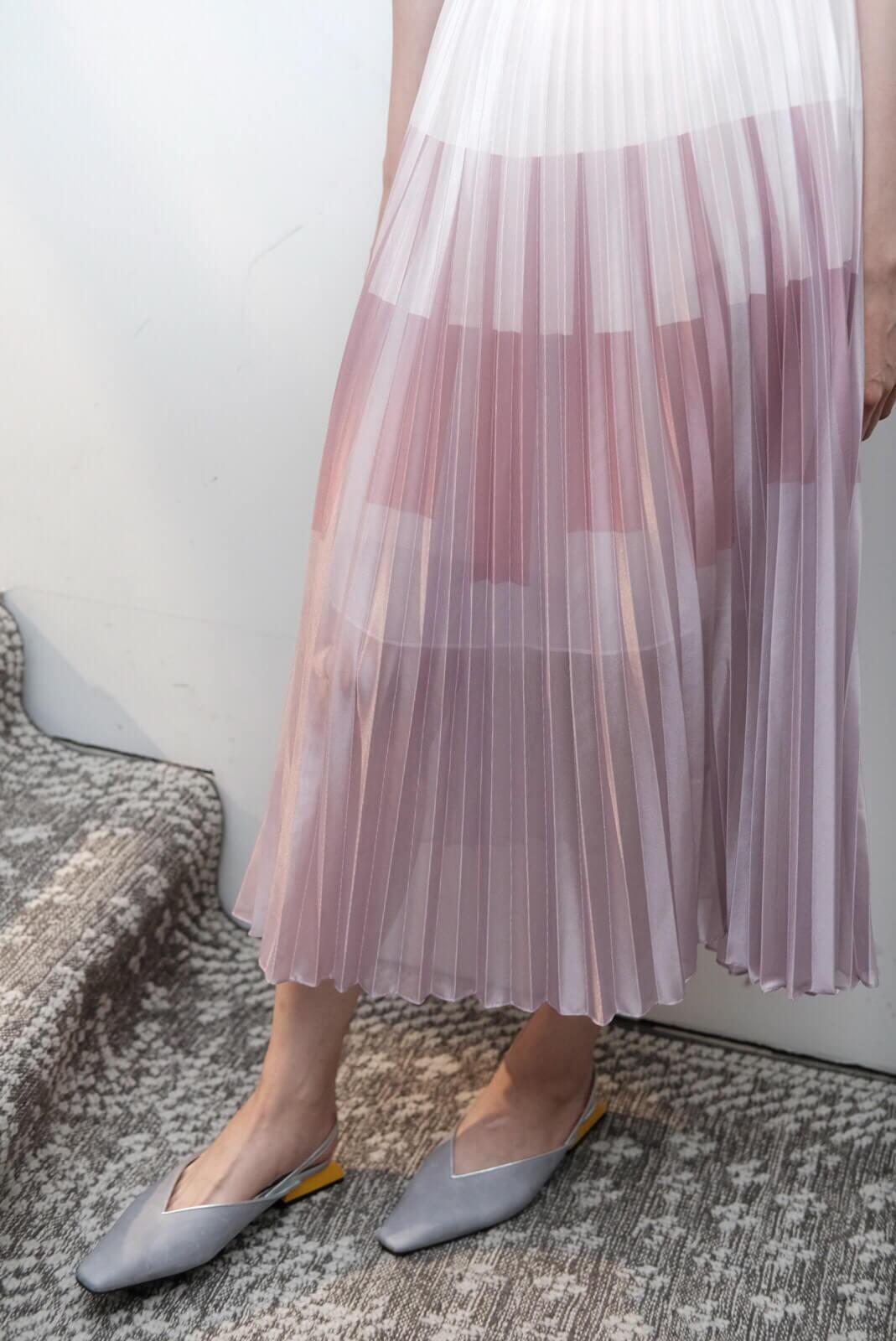 色階百折裙