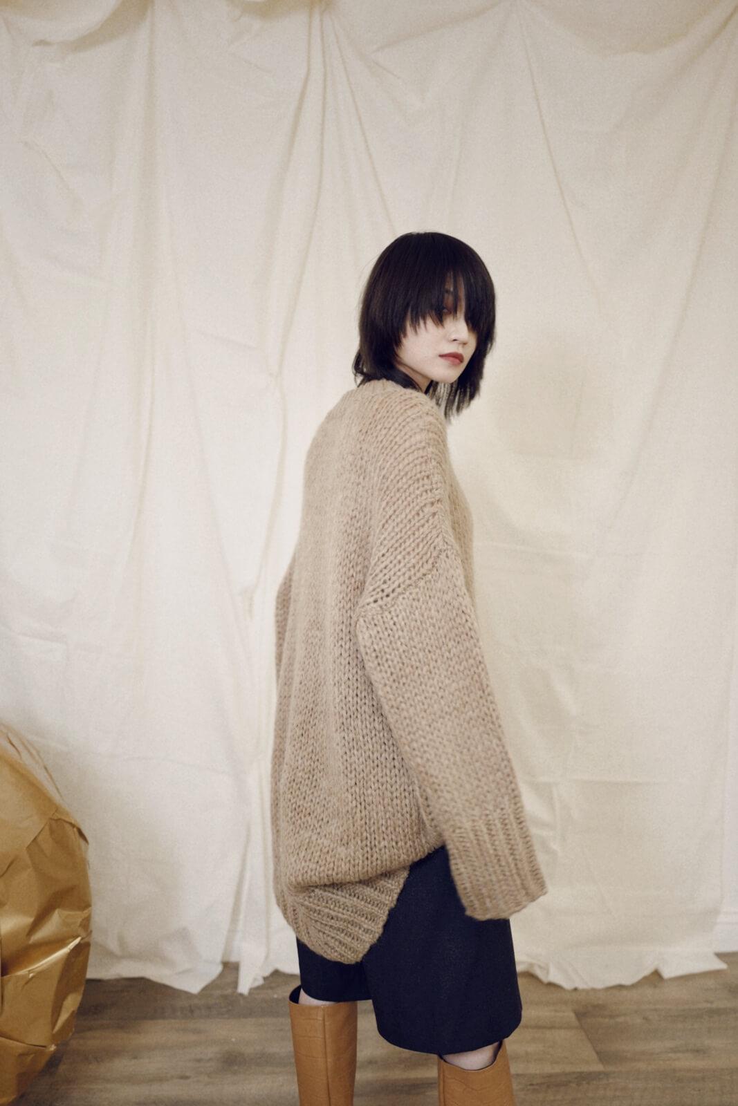 DC針織寬鬆毛衣