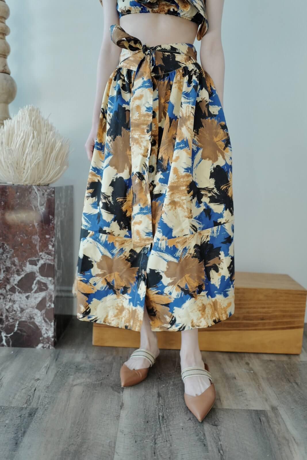 DC水彩圓裙