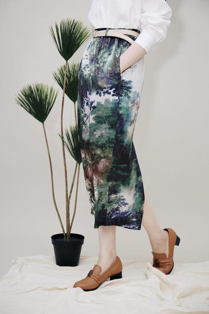 DC[彩墨森林]真絲裙