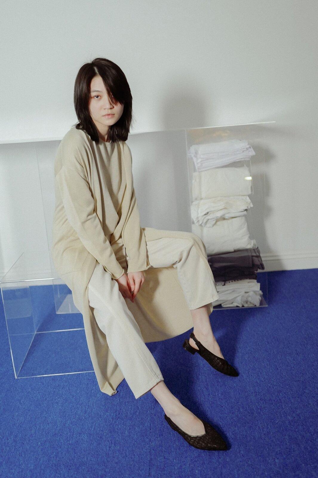 編織繩罩衫