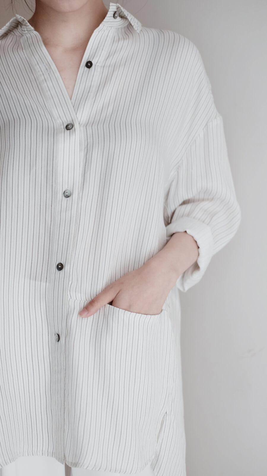 DC直條襯衫
