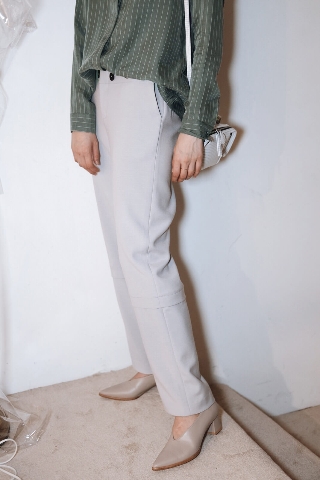 DC雙層西褲