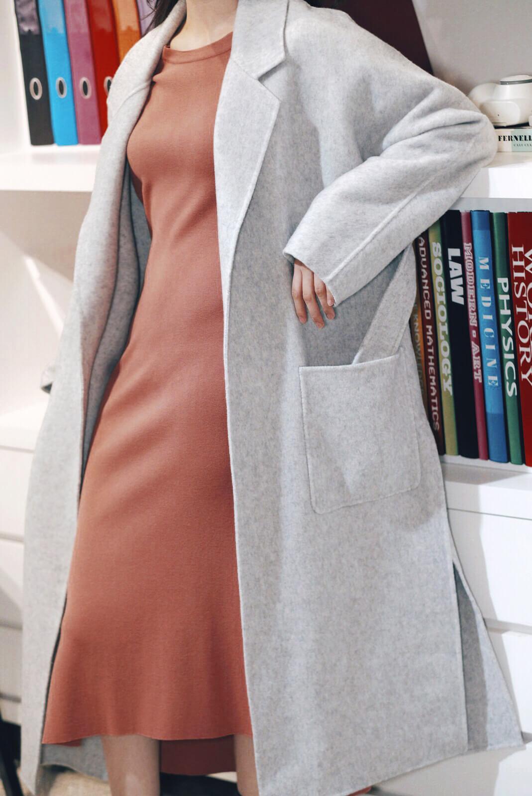 DC雲石紋浴袍大衣