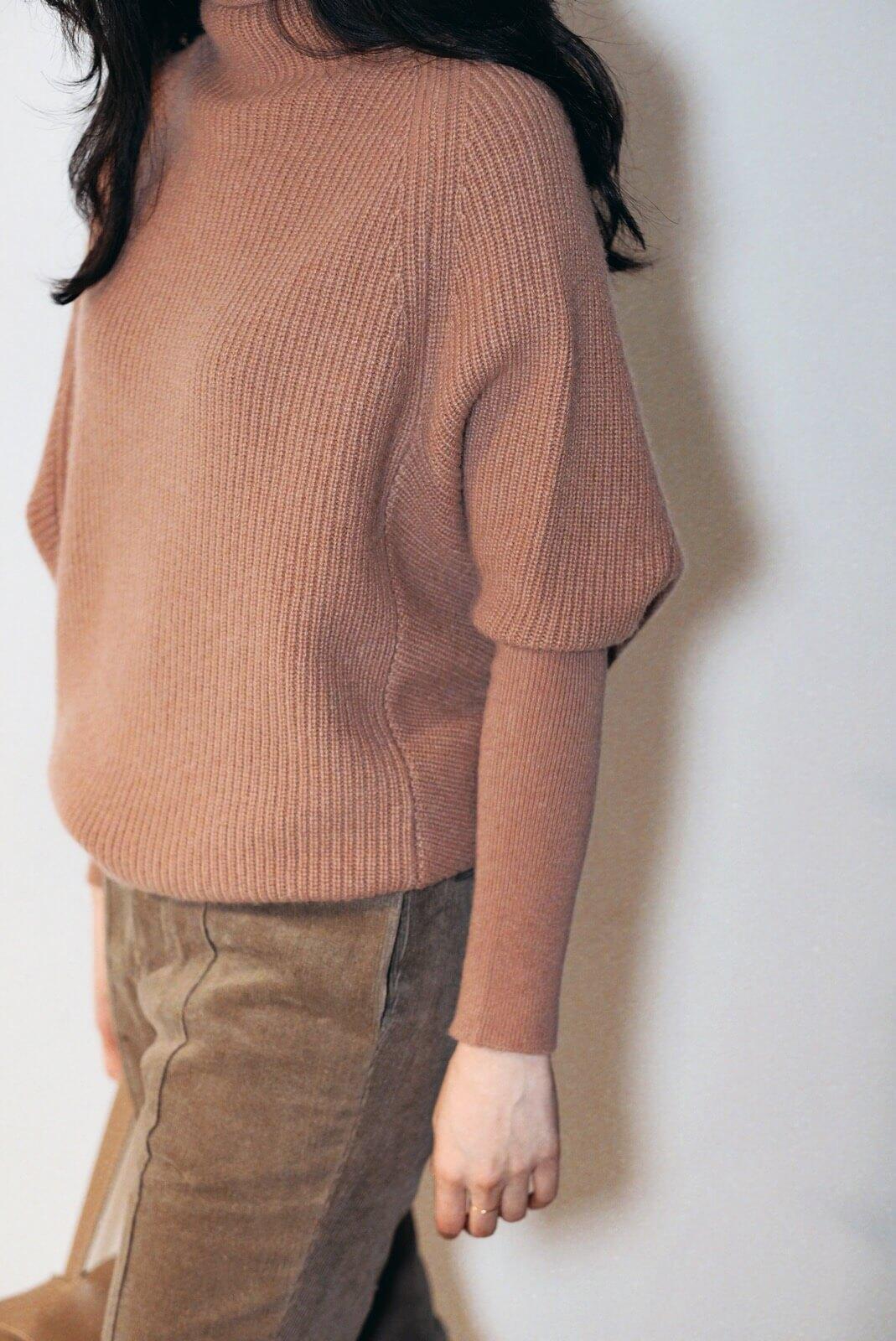 DC收袖毛衣