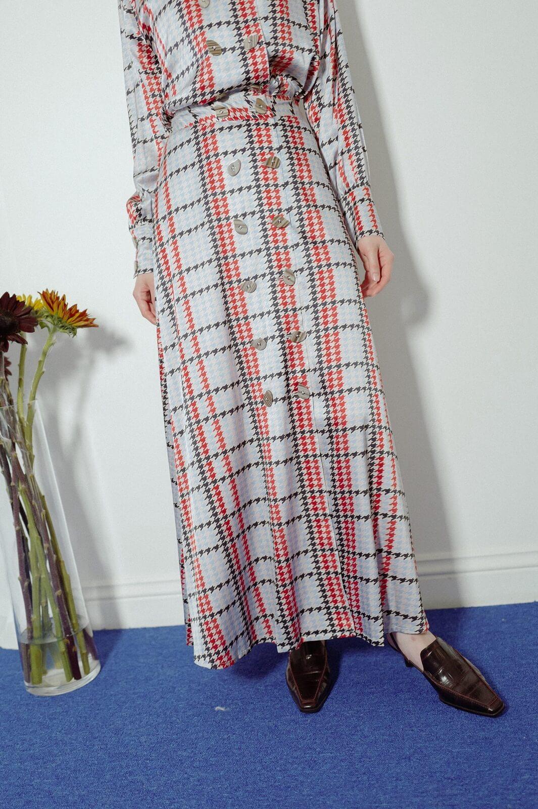 DC千鳥紋裙