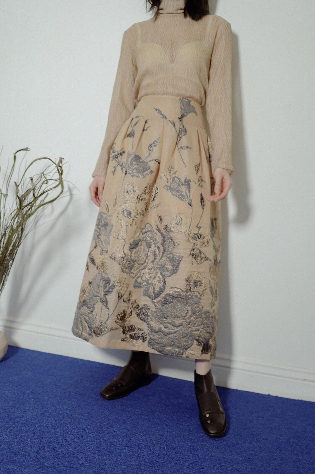 DC木槿緹花裙