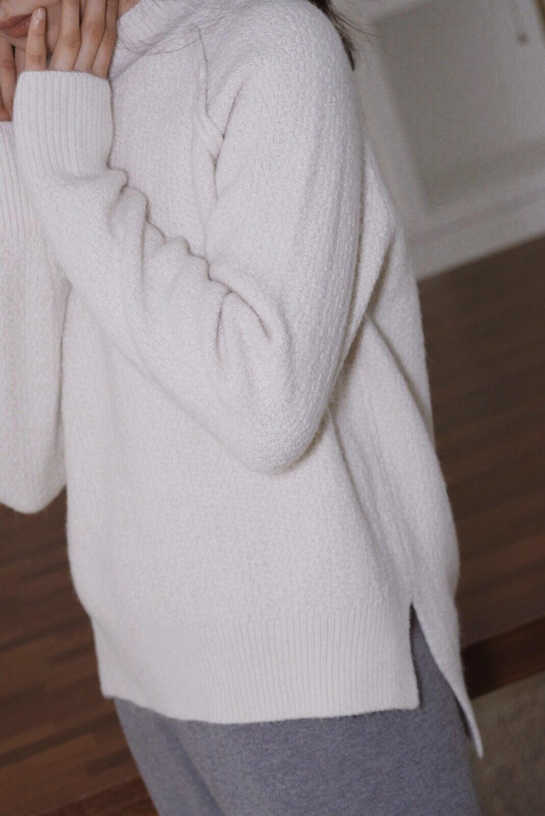 羔羊切線毛衣