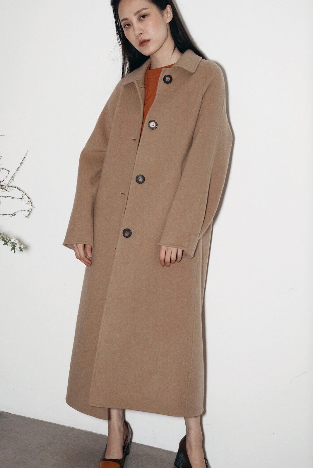 DC立體袖大衣