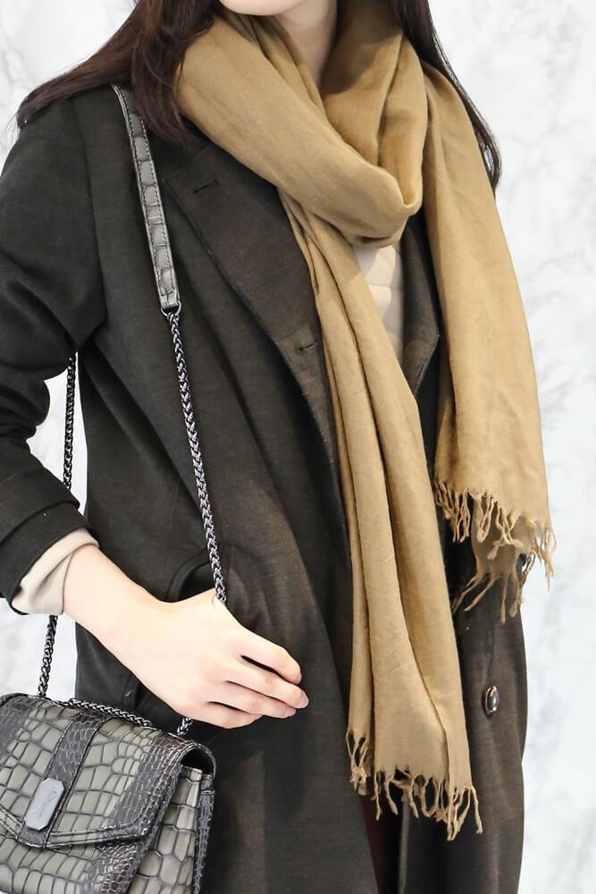 [駝金]RING CASHMERE圍巾