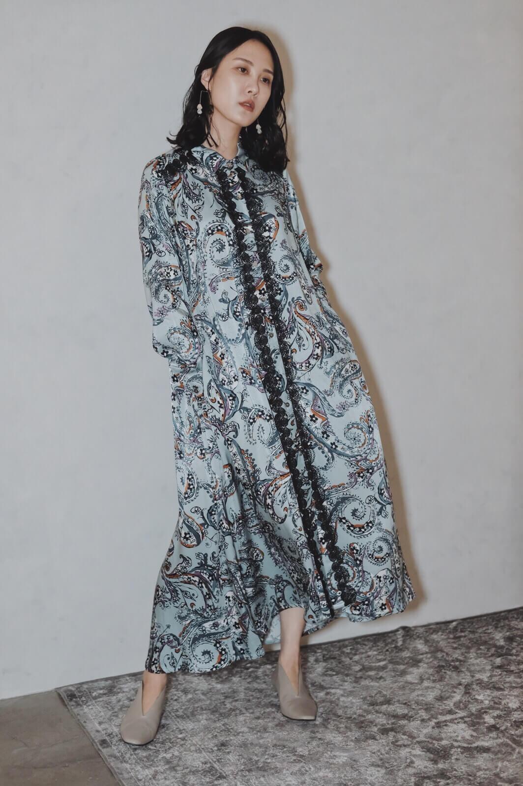 DC變形蟲蕾絲洋裝