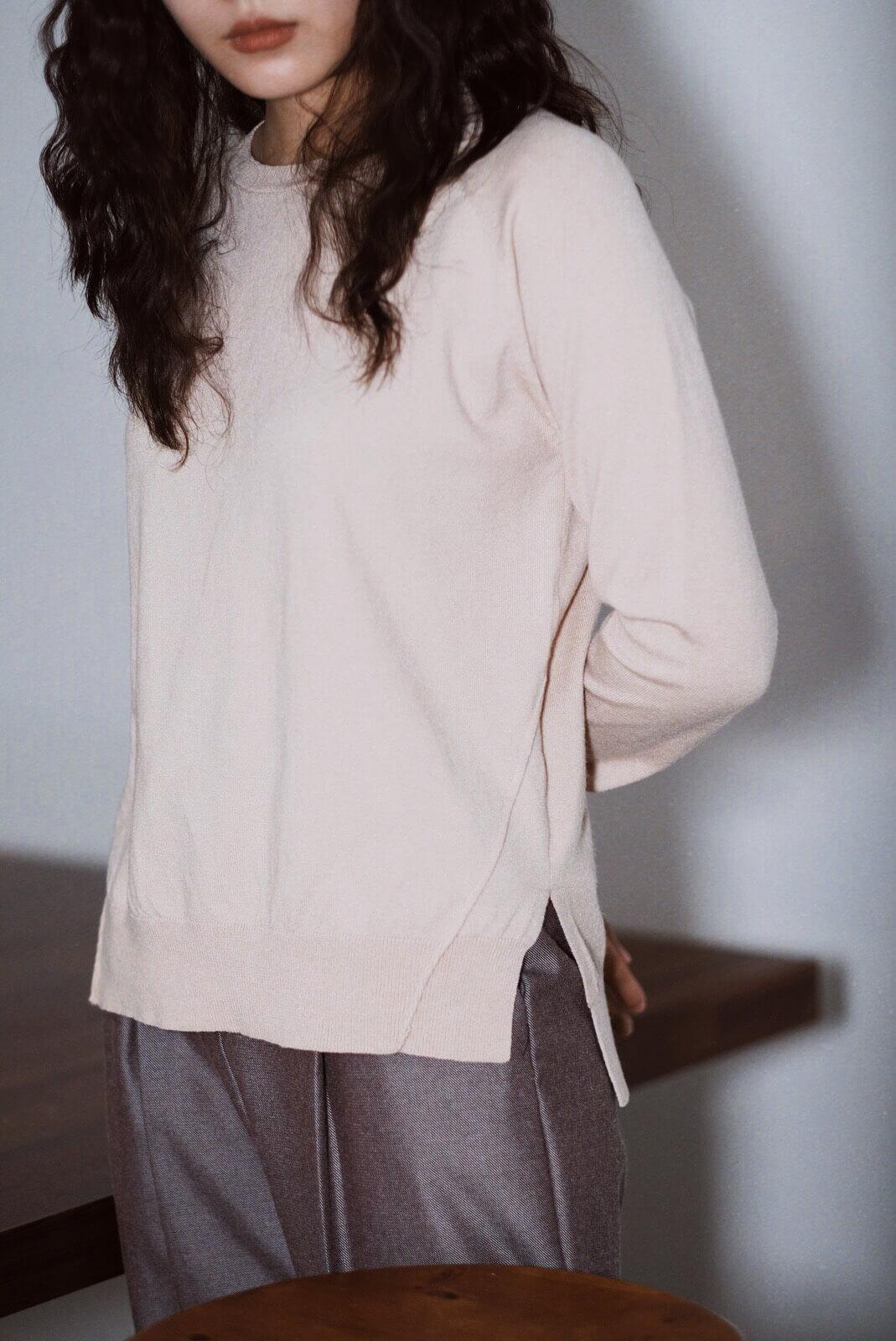 背中線針織衫