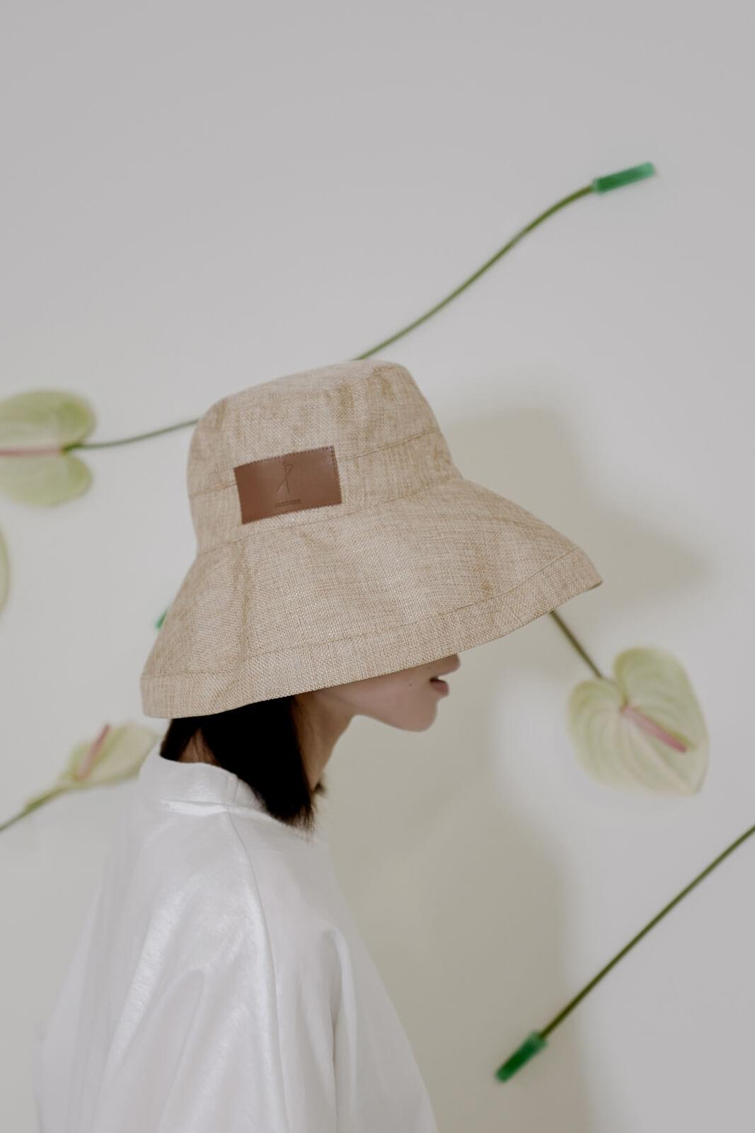 DC 皮標漁夫帽