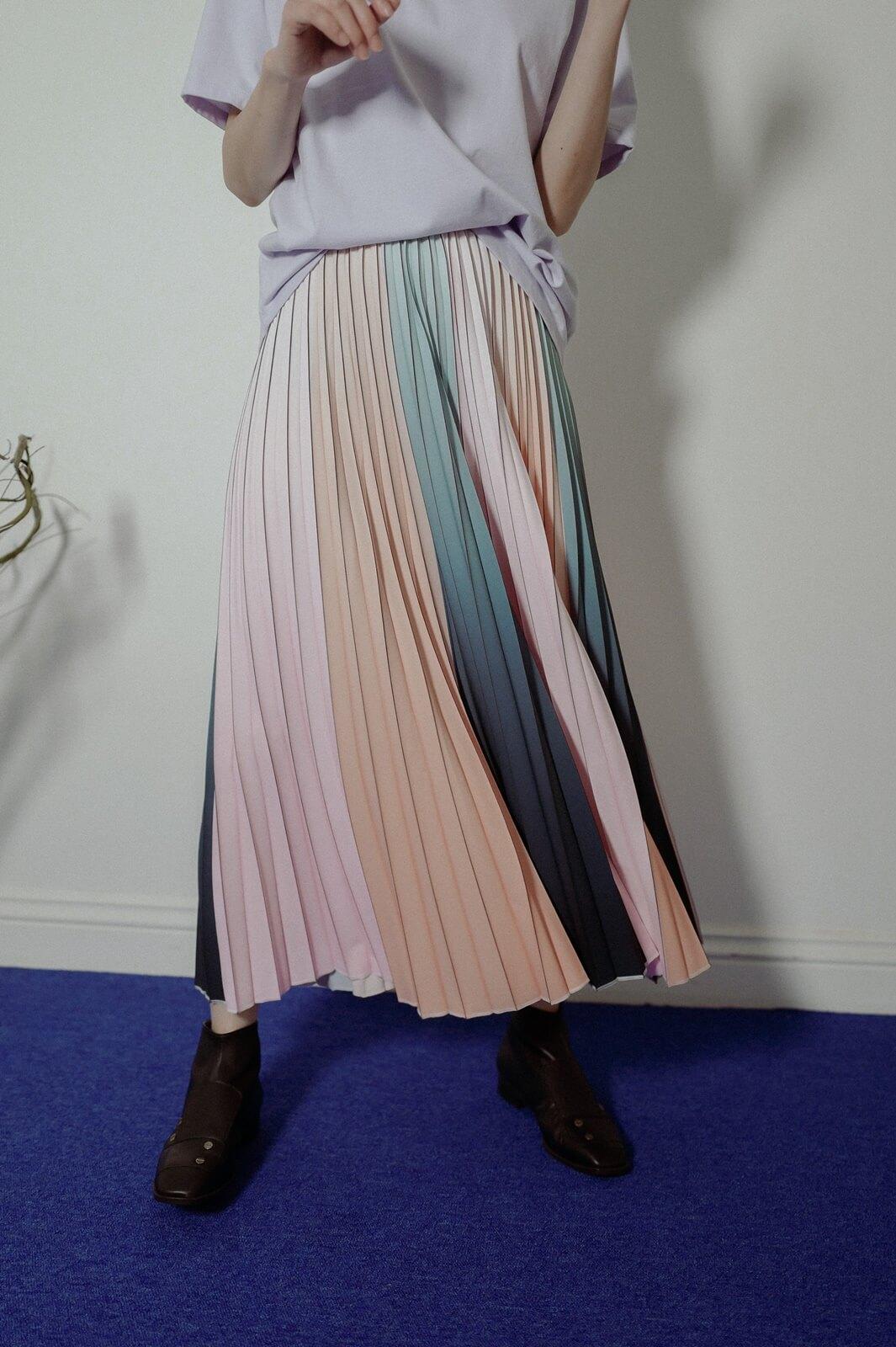 DC氣球百摺裙
